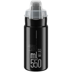 Elite Jet Plus Drinking Bottle 550ml, black/grey logo
